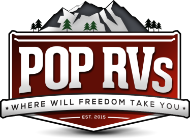 POP RVs logo